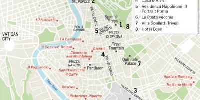 Rome Harta Harta Rome Lazio Itali